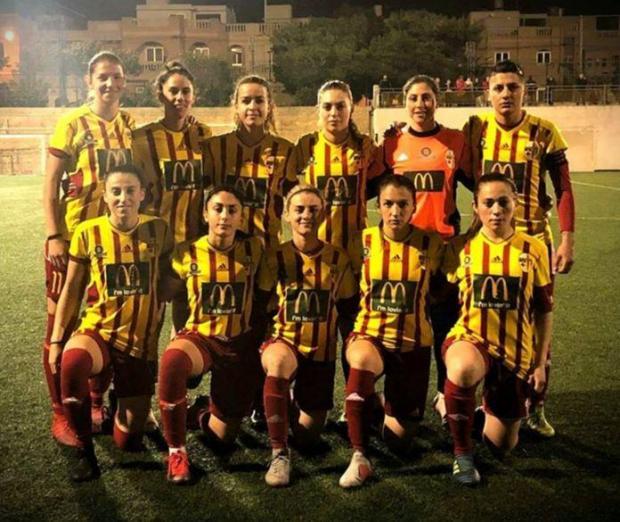 Birkirkara's starting XI against Mġarr United. Photo: Birkirkara FC