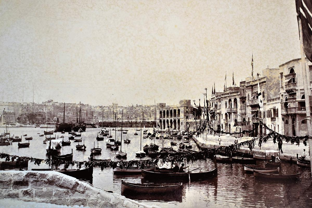 Cospicua waterfront in the 1910s.