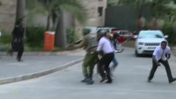 Explosion, gunfire at Nairobi hotel and office complex, casualties reported