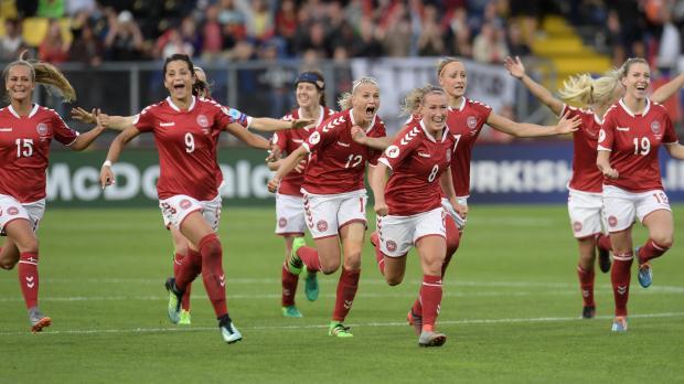 Women's Euros 2017: Denmark hit the sweet spot to reach final