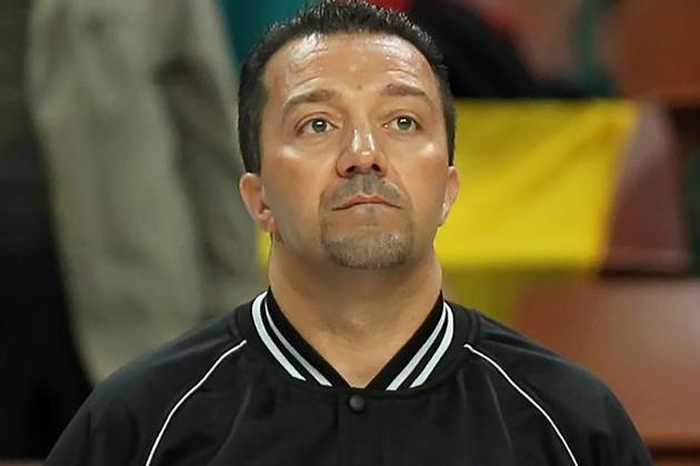 Hungary double header for basketball ref Vassallo