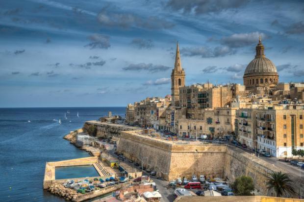 Valletta... under siege.