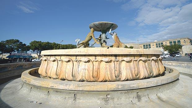 The derelict Triton Fountain must be restored before Valletta becomes an EU Capital of Culture in 2018. Photo: Matthew Mirabelli