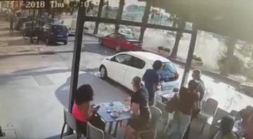 Watch: Dramatic video shows sports car crash on the Strand