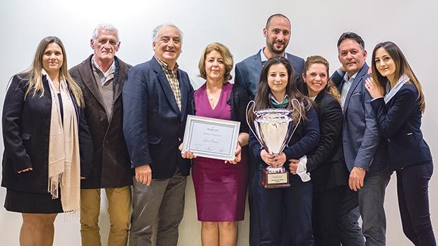 From left: Grace Cauchi, Alan Tabone, Gino Cauchi, Marie Grech, Frank Camilleri, Francesca Muscat, Georgine Brown, George Attard and Katya Scicluna.