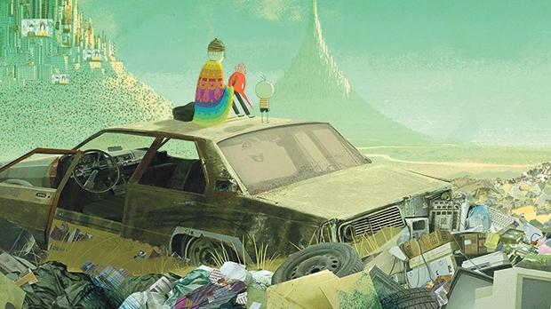 A young boy's life unfolds like a tapestry in Boy and the World.