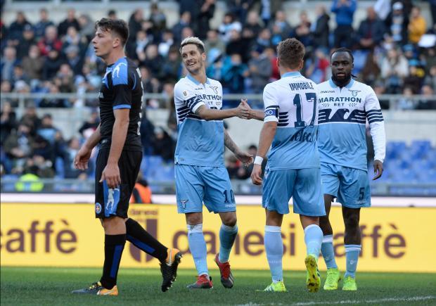 Lazio cruised into the quarter-finals of the Coppa Italia on Saturday.