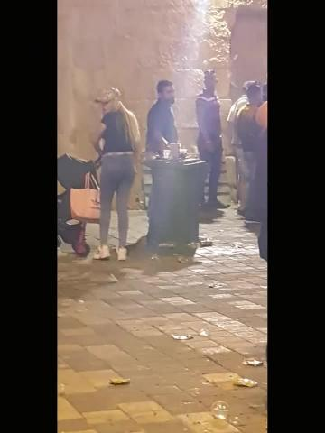 Watch: Regatta fans leave Cospicua looking rough   Video published on Facebook by Vent