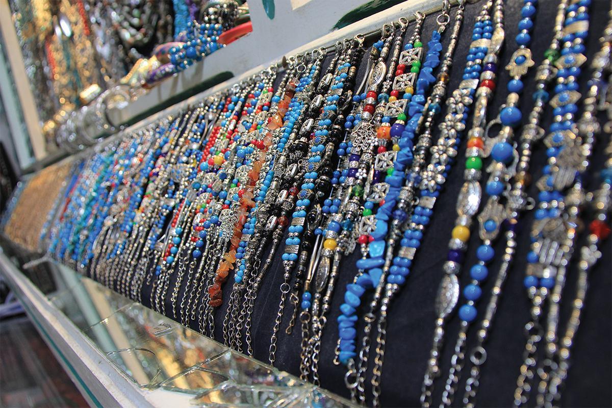 Handmade jewellery of Tunisia