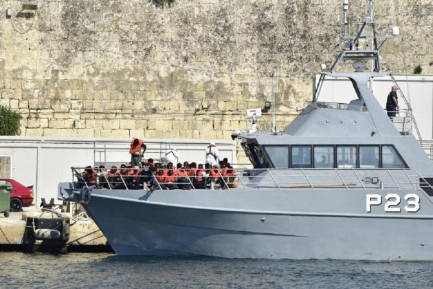 76 migrants brought to Malta by AFM