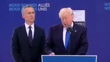 Trump urges Nato members to 'pay fair share'