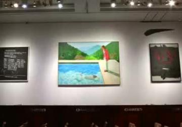 David Hockney painting soars to $90m - a record for living artists