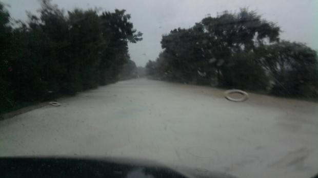 "Ta Xhajma Road in Nadur, turned into a river - Picture Duncan Formora - <a href=""mailto:mynews@timesofmalta.com"" target=""_blank"">mynews@timesofmalta.com</a>"