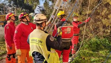 Maltese earthquake simulation draws volunteers from eight EU countries