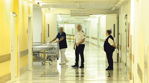 In the past, security personnel at Mater Dei Hospital came under fire for not acting swiftly enough. Photo: Chris Sant Fournier