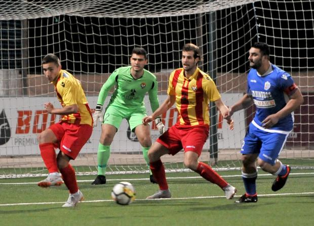 Mosta eliminated Senglea Athletic in the FA Trophy. Photo: Chris Sant Fournier