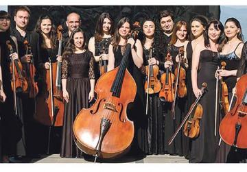 Evening of music for string orchestra