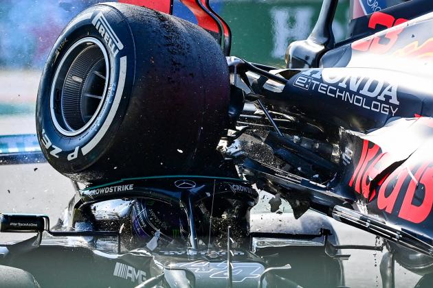 Lewis Hamilton is 'grateful to be alive' after crash with Verstappen at Monza