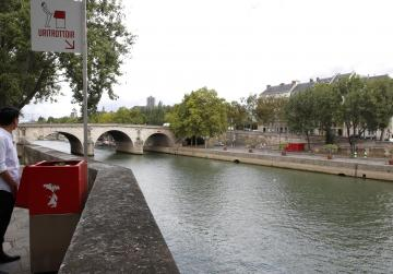 Very public eco-friendly urinals peeve Paris residents