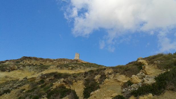 Ġnejna tower. Photo: Amy Mallia