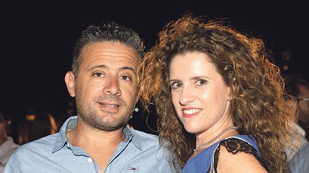 Claire and Raphael Azzopardi.