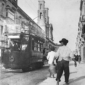 A government own goal: trams were allowed to run in parallel with the railway up to Birkirkara.