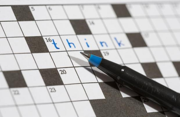The elderly man's crossword mania took him a step too far. Photo: Shutterstock