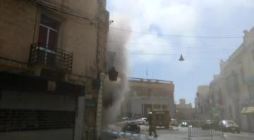 Fire destroys Sliema pharmacy, causes chaos in area