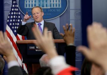 Watch: Sean Spicer quits as Trump press secretary