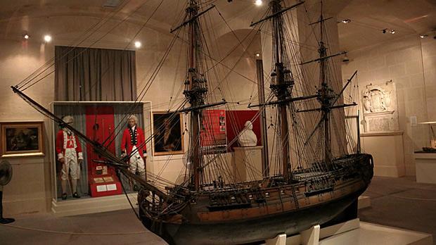 Malta Maritime Museum, Vittoriosa. Photo: Joe Fenech