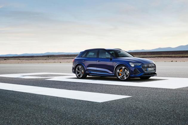 The Audi e-tron S is an electric SUV with more motors and added power