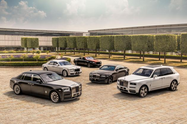 Rolls-Royce sales up 42 per cent thanks to Cullinan SUV