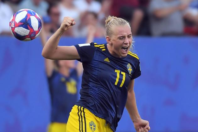 Blackstenius the hero as Sweden stun Germany to reach World Cup semis