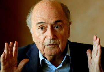 Blatter: England should mount World Cup bid with Ireland