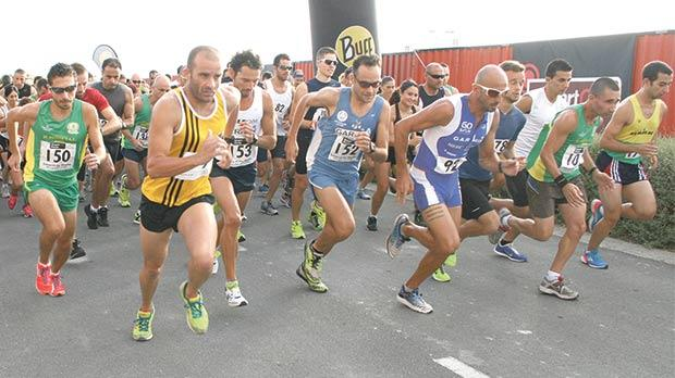 Runners set off at the start of a previous SmartCity Malta road race.