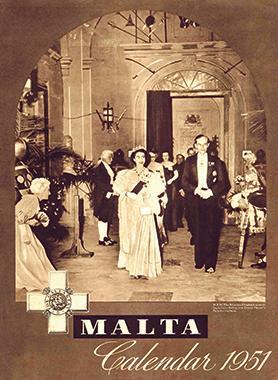 1951 calendar cover