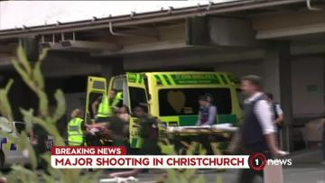 49 dead in mosque shootings in New Zealand; right-wing extremist filmed attack | The injured being taken to hospital after the attack.