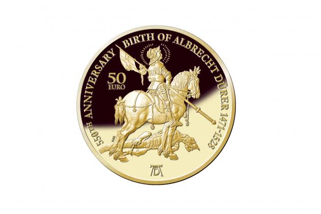 New Central Bank coins mark birth of Albrecht Dürer