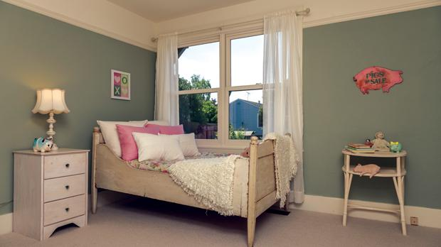 Olive green will be big in 2015 bedrooms.