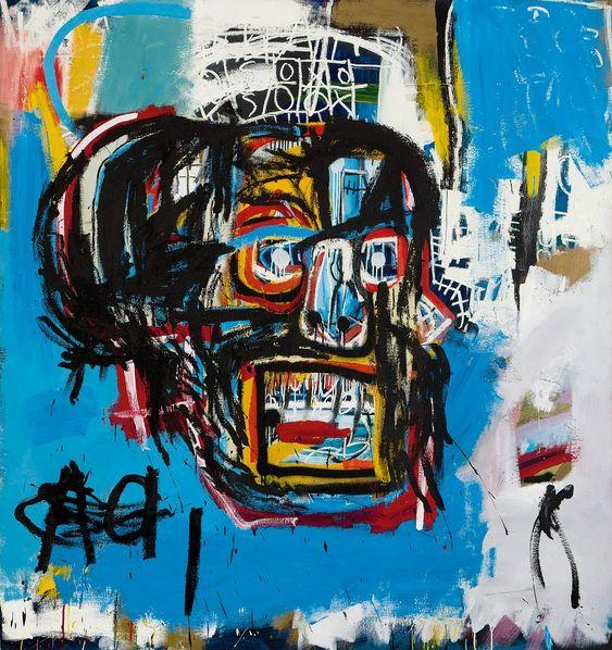 'Untitled' set the record for the most expensive painting by Basquiat. Photo: pinterest.com
