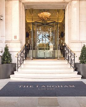 London's 1865 The Langham at the end of Regent Street and opposite BBC Broadcasting House at Portland Place is younger than Brown's Hotel and Claridge's but older than The Savoy and The Ritz. Photos: Shutterstock.com