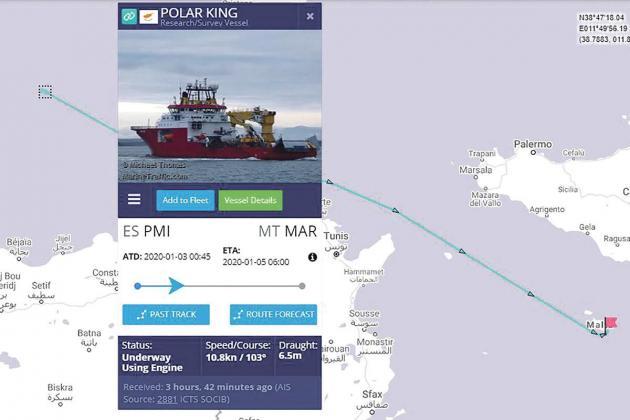 Survey ship starts assessment of interconnector damage
