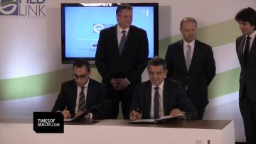 Watch: Agreement to cooperate on €320 million gas pipeline