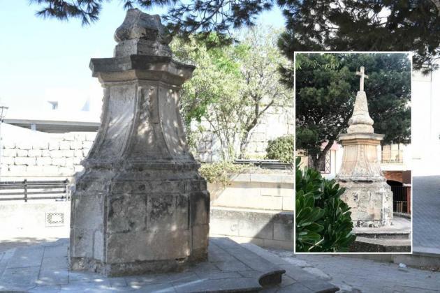 Two youths arrested for vandalising historic Mellieħa cross