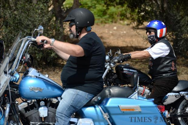 "Riders take to the streets to take part in the first ""Harley Owners Group (HOG) Mediterranean run"" on May 27 starting at Luxol Grounds. Photo: Matthew Mirabelli"