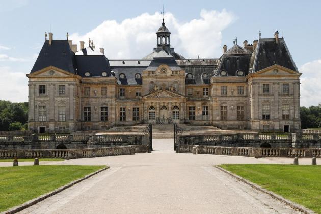 The Vaux-le-Vicomte chateau.