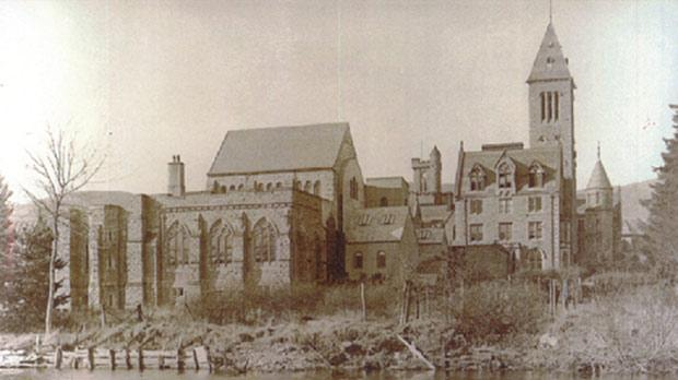 Luigi Caruana joined the English Benedictine congregation at Fort Augustus, Scotland, on March 21, 1884. Photo shows the abbey around 1920.