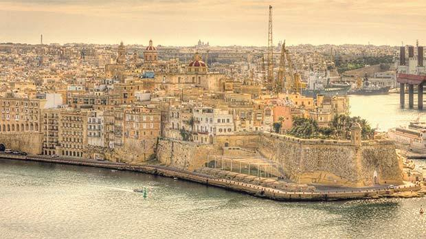 Senglea – the promotary protruding into the Grand Harbour. Photo: Leonard Griscti