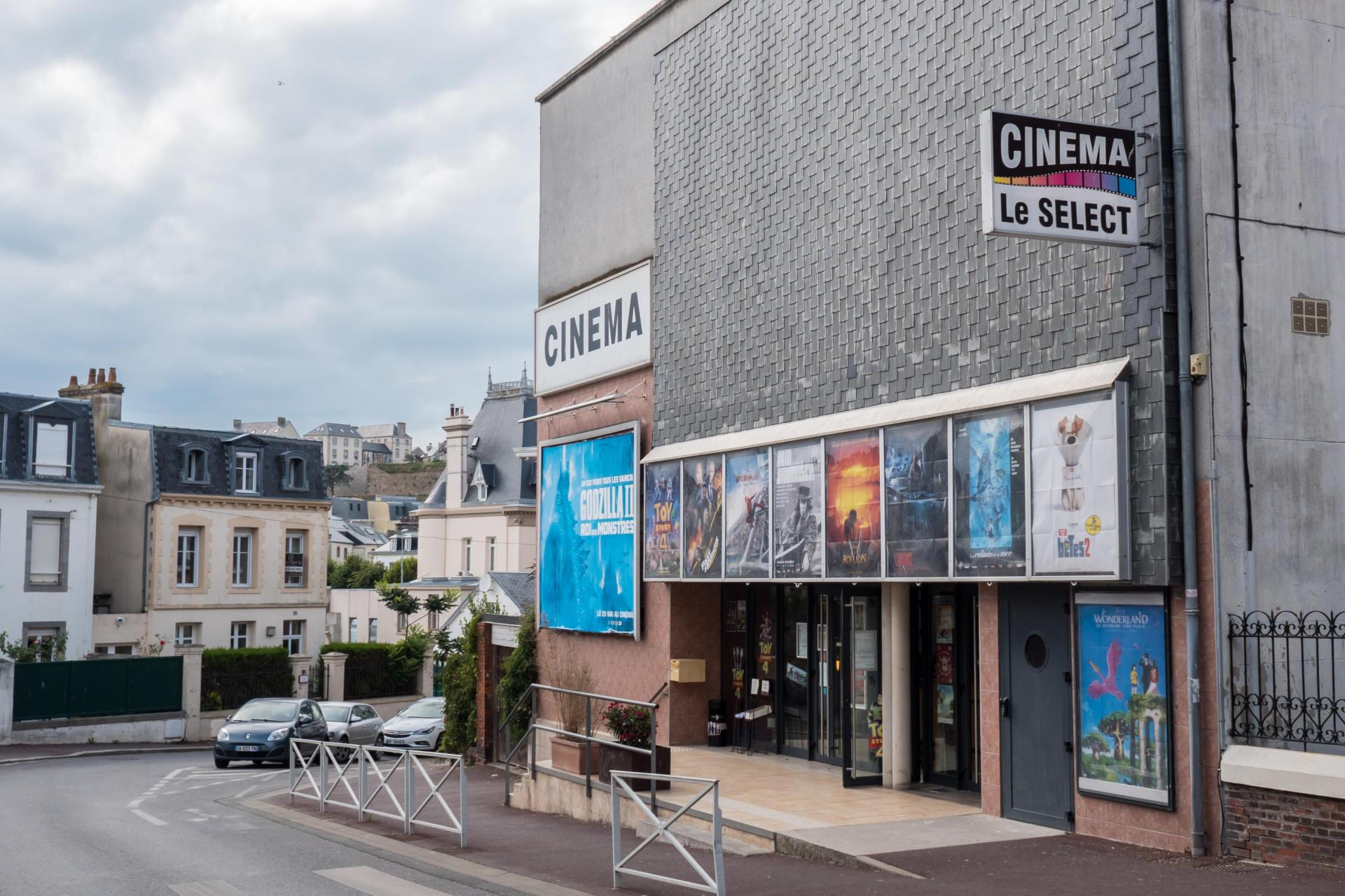 A cinema complex in the French town of Granville. Photo: Shutterstock.com
