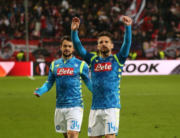 Arsenal Draw Napoli In Pick Of Europa League Quarter Finals
